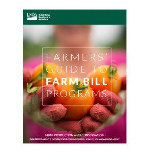 Farmers' Guide to 2018 USDA Farm Bill Programs